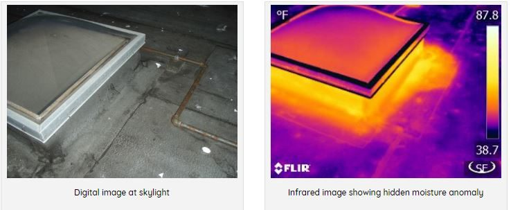 Sky Light Leak moisture comparison